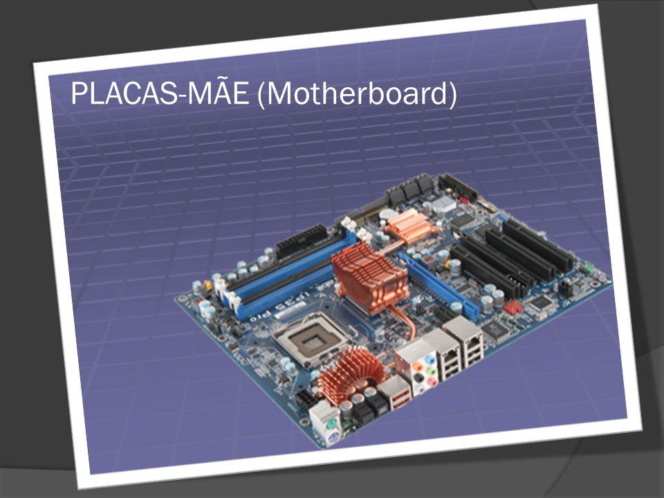 INTRODUÇÃO Placa-mãe é o elemento central de um micro-computador, aonde se encontra a CPU, microprocessador que se comunica com meios periféricos externos e internos.