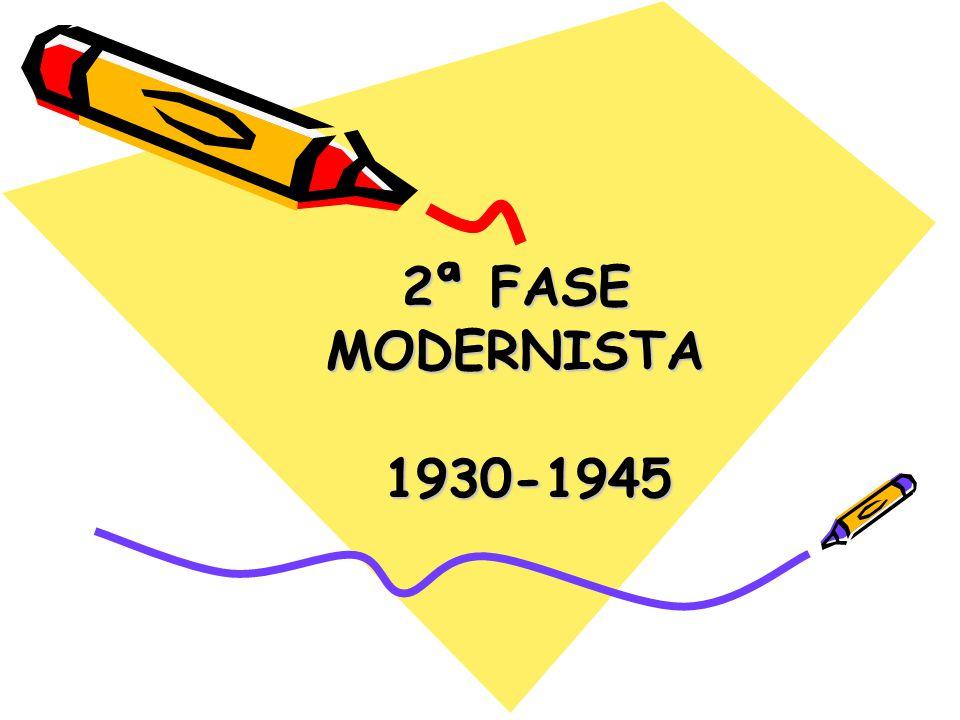 2ª FASE MODERNISTA 1930-1945