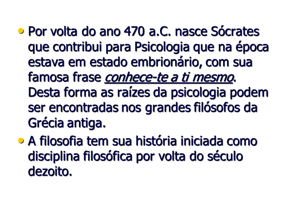 Ciências Matemática, Astronomia, Física, Química, Biologia e Sociologia.