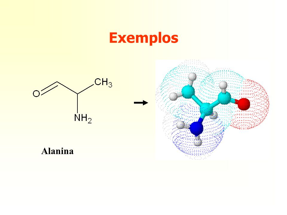 Exemplos Alanina