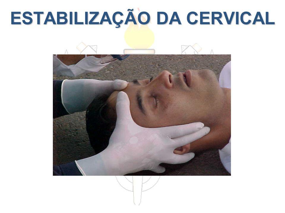ESTABILIZAÇÃO DA CERVICAL