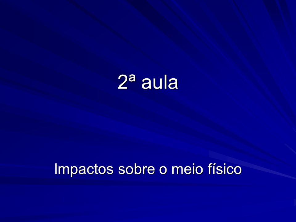 AUSÊNCIA TOTAL DE MATA CILIAR