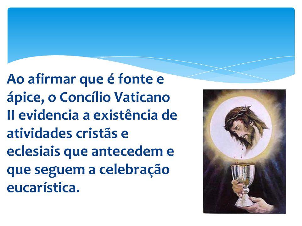 Nascido da água e do Espírito Santo (cf.
