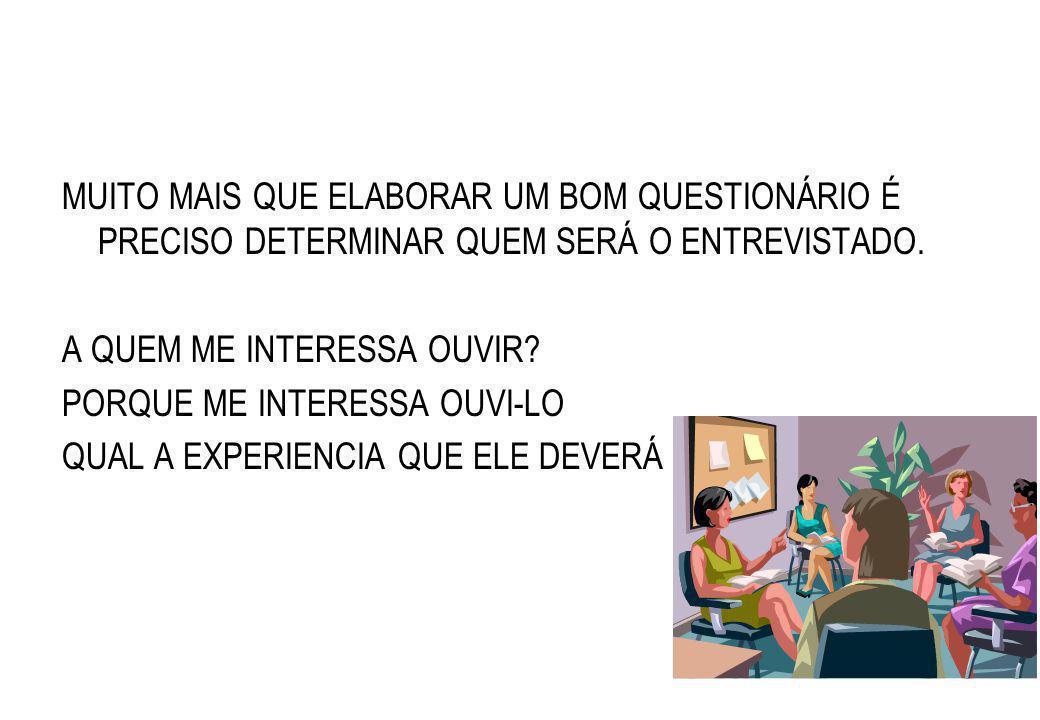 7. UNIVERSO A SER PESQUISADO