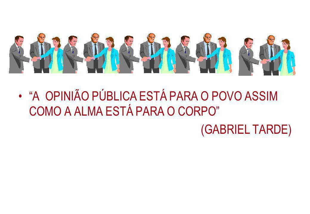 3. FATORES CONDICIONANTES A INVESTIGAÇÃO E OPINIÃO PÚBLICA.
