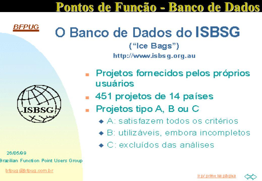 37 Pontos de Função - Banco de Dados