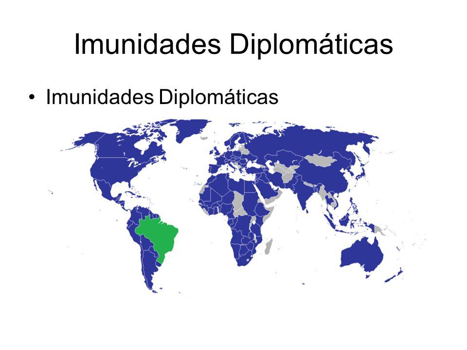 Imunidades Diplomáticas