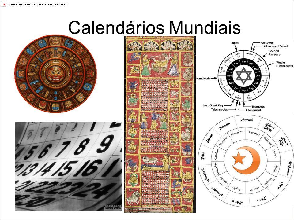 Calendários Mundiais Calendário