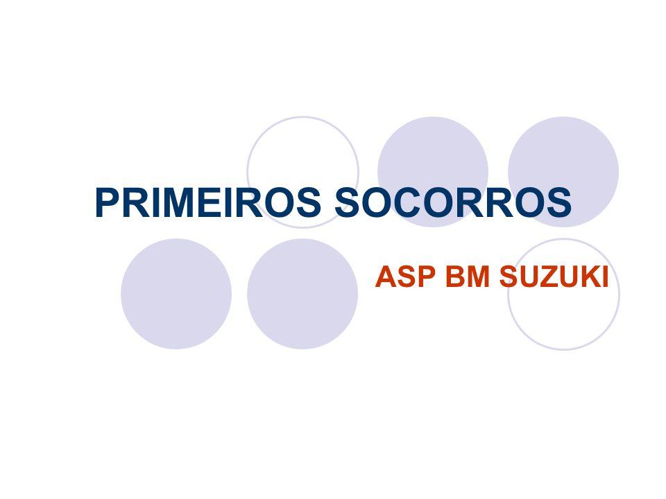 PRIMEIROS SOCORROS ASP BM SUZUKI