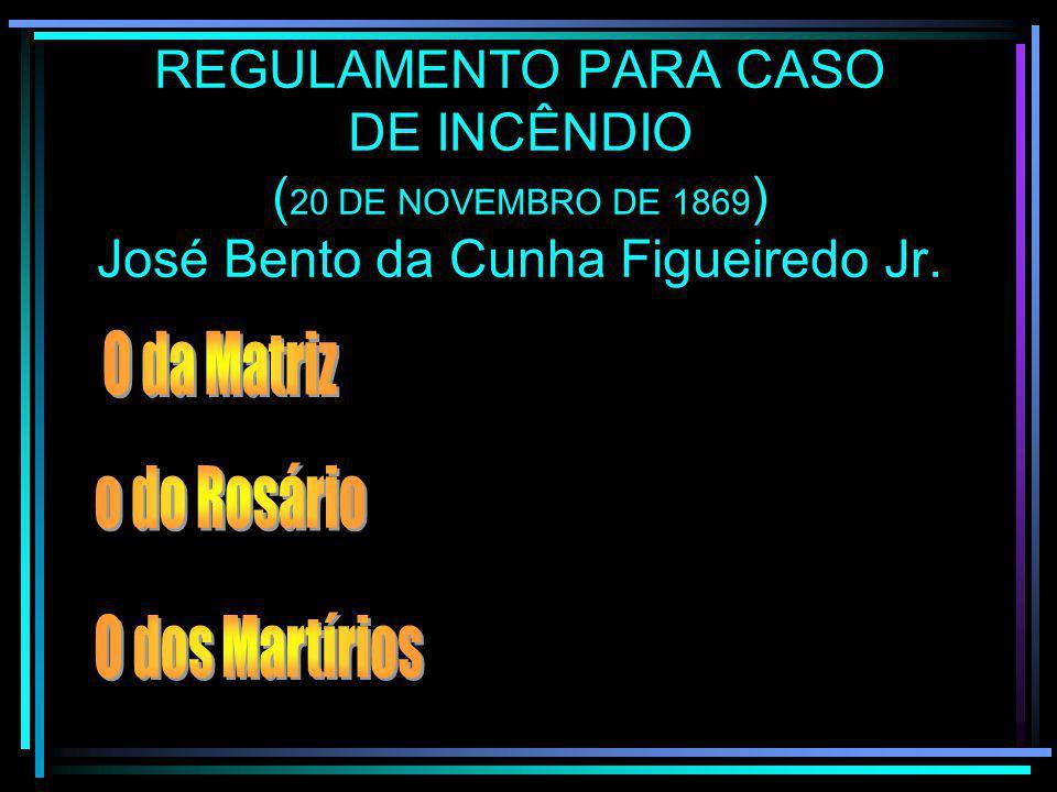 CONTRATO DA PRIMEIRA BOMBA DE INCÊNDIO
