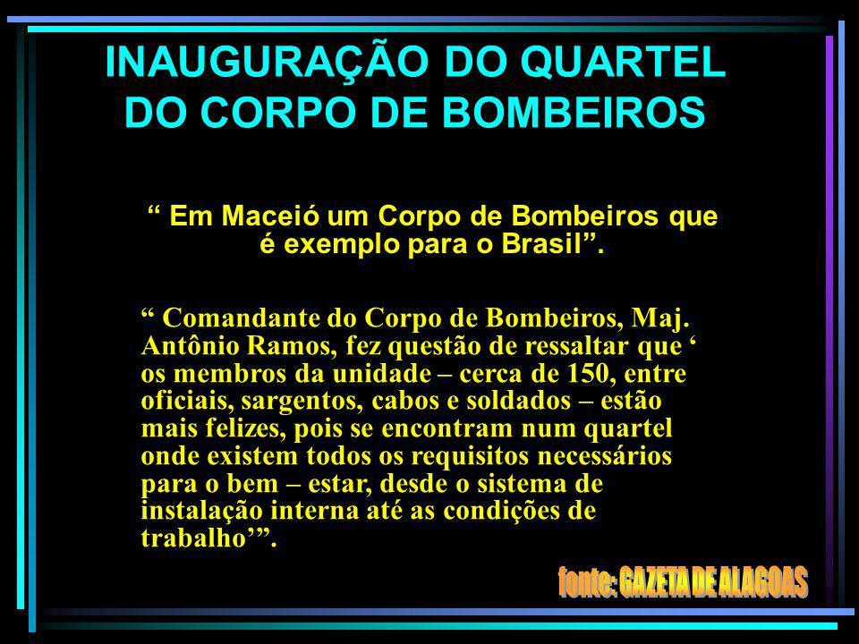 AS DENOMINAÇÕES DO CORPO DE BOMBEIROS NA PMAL COMPANHIA DE BOMBEIROS (31 de maio de 1960, Lei nº 2231). CORPO DE BOMBEIROS DA POLÍCIA MILITAR 20 de ou