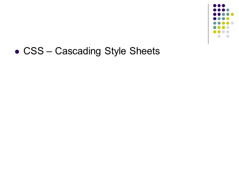 CSS: Por que usar.
