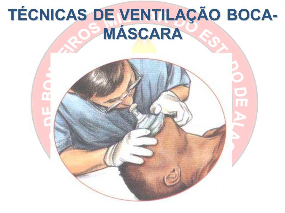 TÉCNICAS DE VENTILAÇÃO BOCA- MÁSCARA
