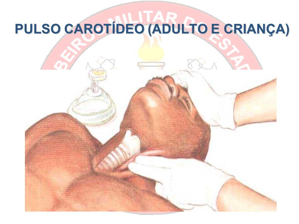 PULSO CAROTÍDEO (ADULTO E CRIANÇA)