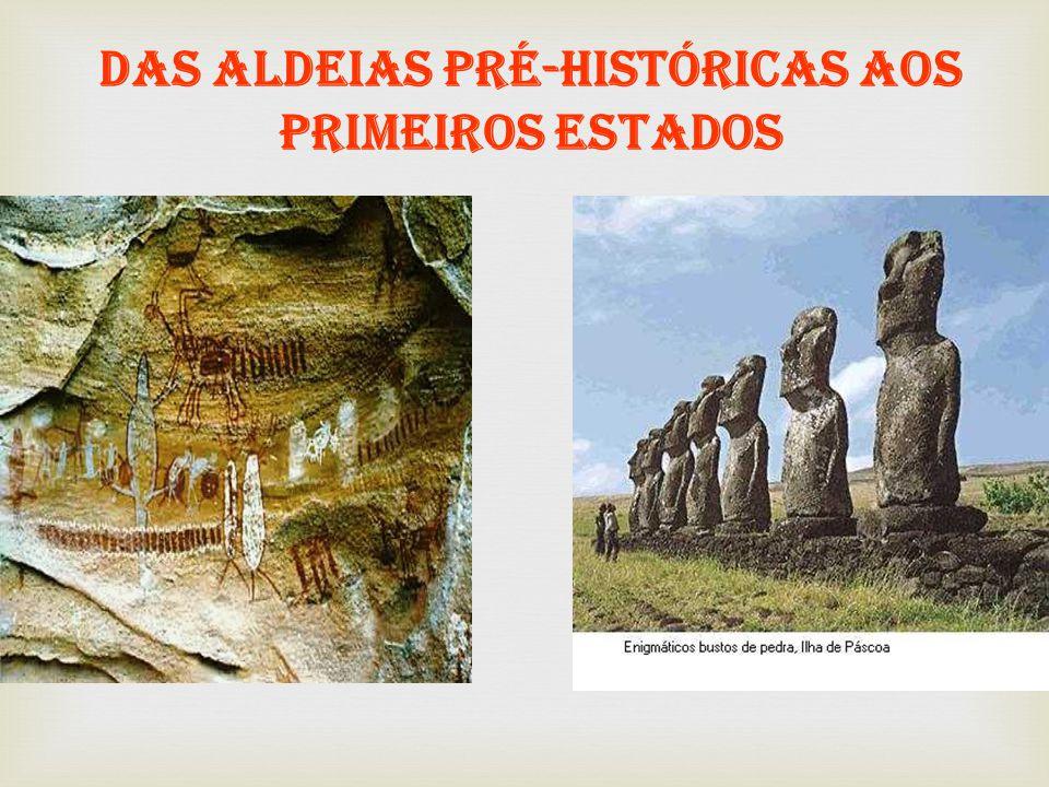 Das aldeias pré-históricas aos primeiros Estados