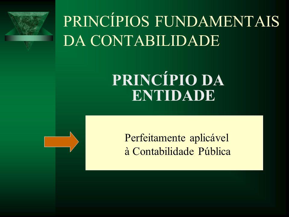 PRINCÍPIOS FUNDAMENTAIS DA CONTABILIDADE PRINCÍPIO DA CONTINUIDADE Na Contabilidade Pública pode ser conceituado como o princípio da gestão continuada