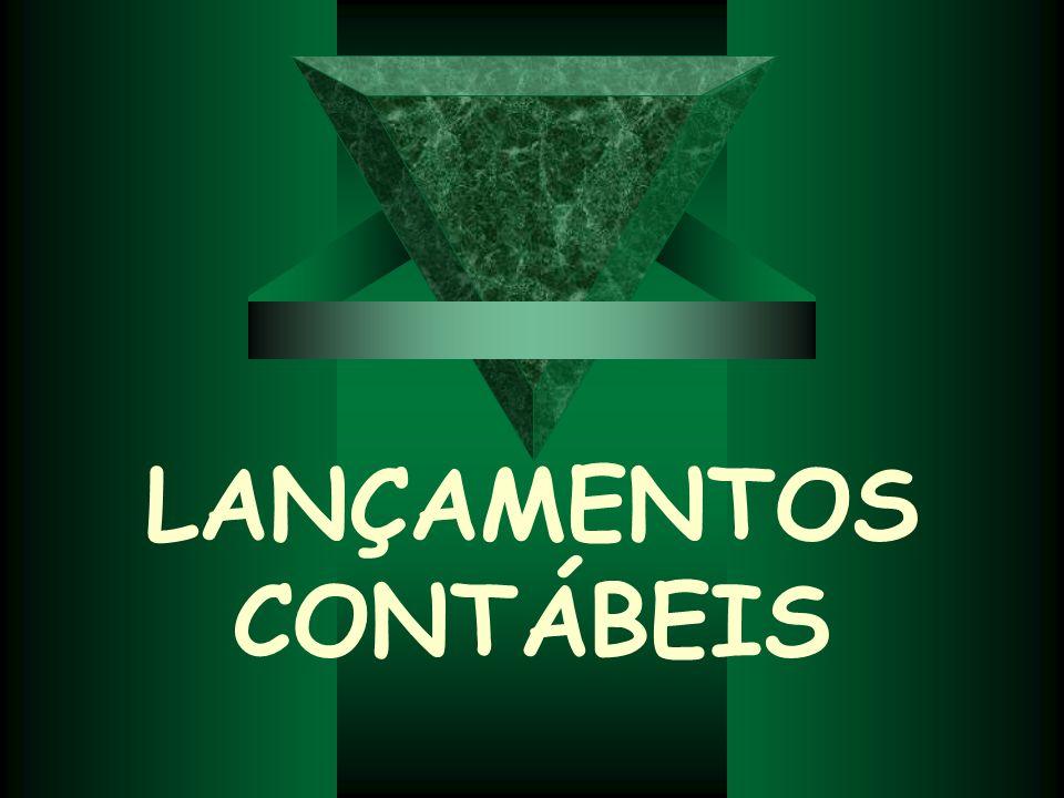 LANÇAMENTOS CONTÁBEIS