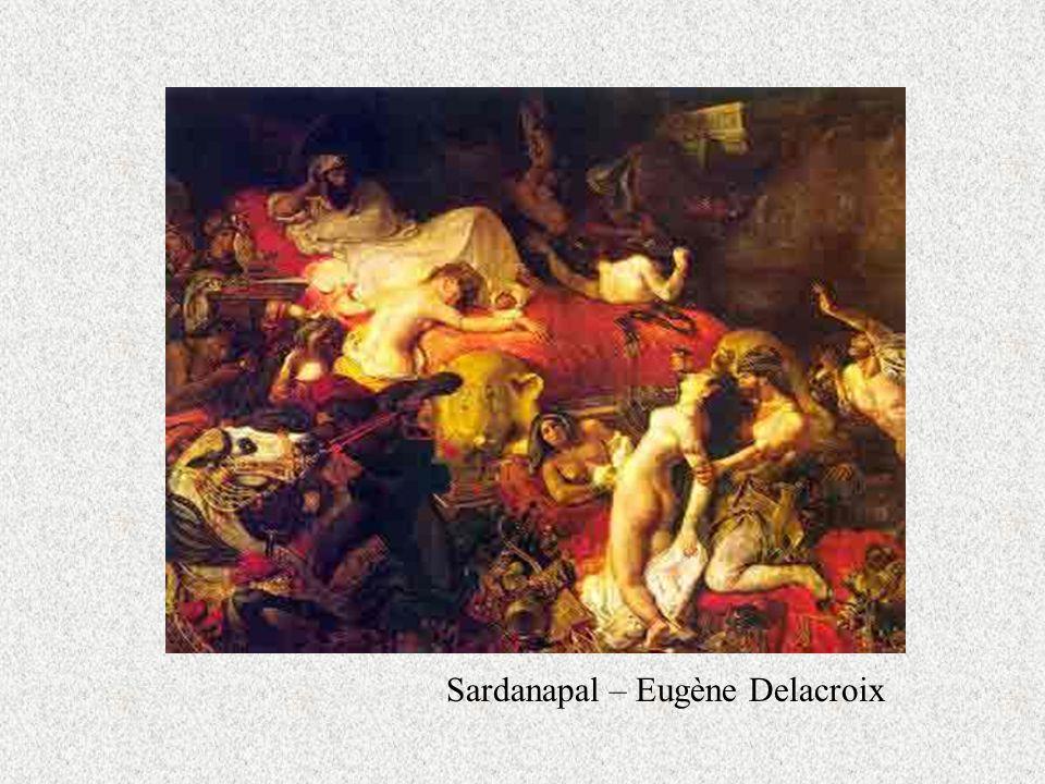 Sardanapal – Eugène Delacroix