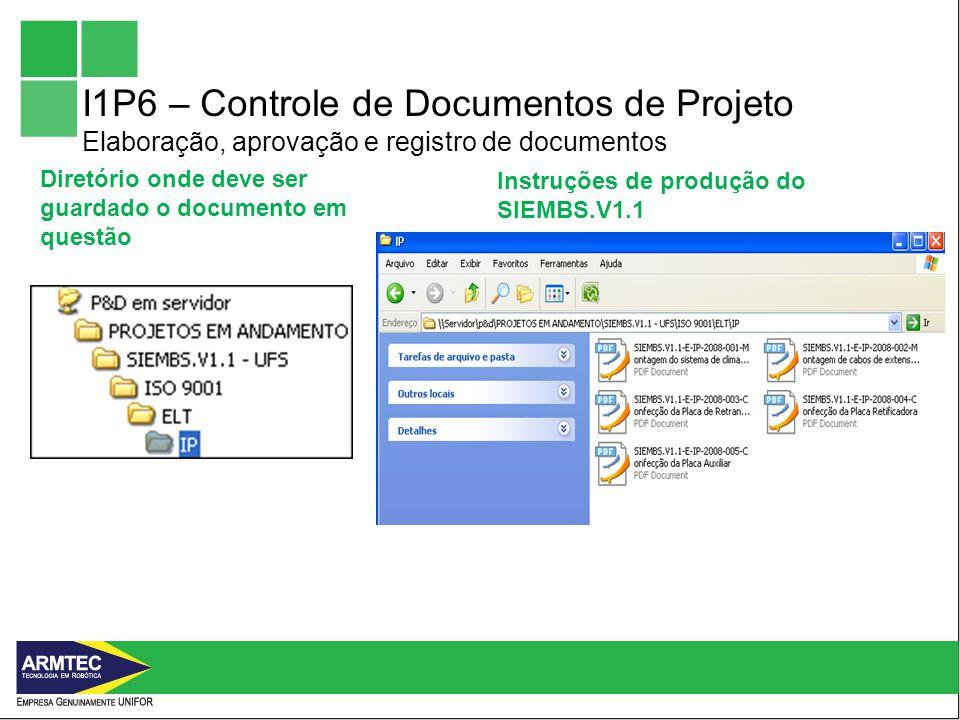 Diretório onde deve ser guardado o documento em questão Instruções de produção do SIEMBS.V1.1