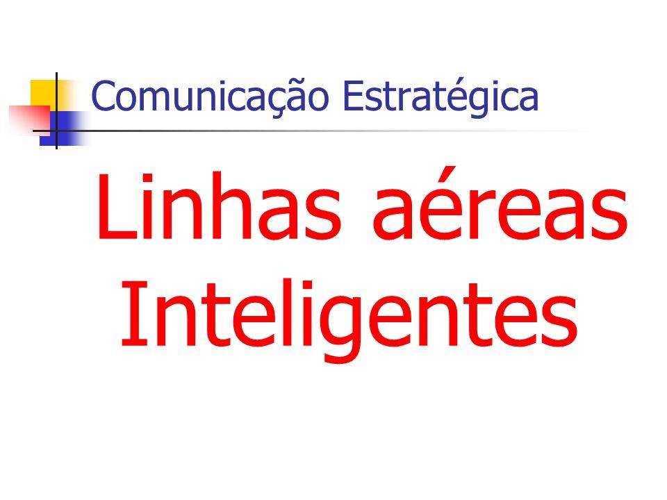 Comunicação Estratégica Linhas aéreas Inteligentes