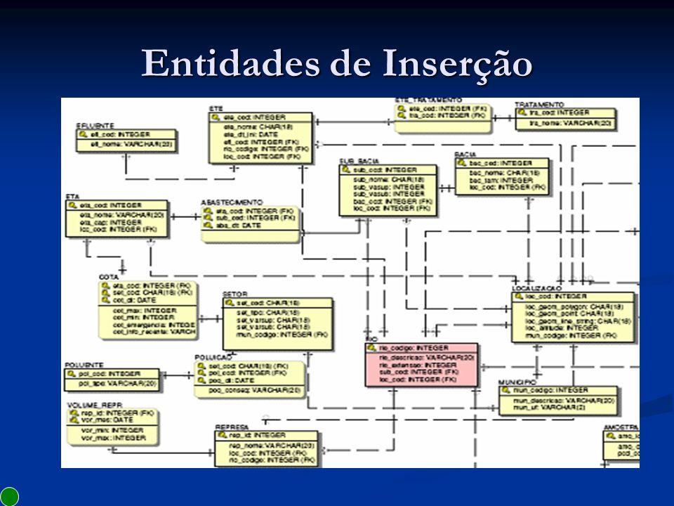 Dicionário de Dados Início Início 1.Utilização do Erwin 2.