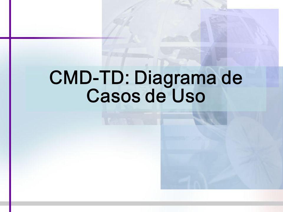 CMD-TD: Diagrama de Casos de Uso