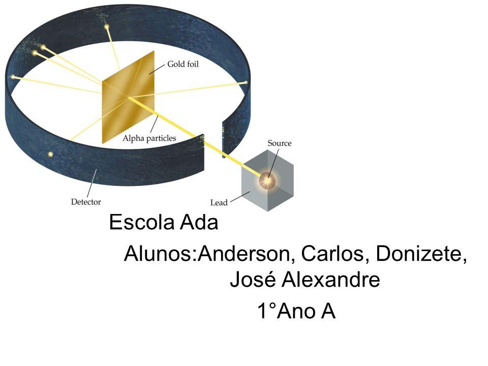 Escola Ada Alunos:Anderson, Carlos, Donizete, José Alexandre 1°Ano A