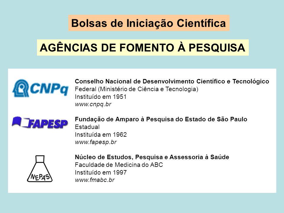 PROGRAMA IC-FMABC 2007-2008 - Coordenação Institucional do Programa: Prof.