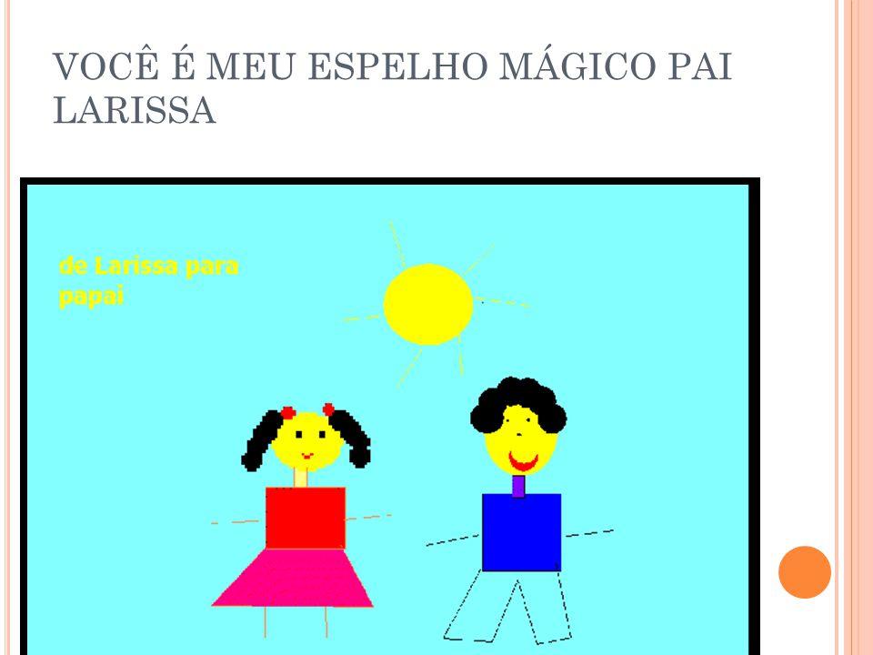 VOCÊ É MEU ESPELHO MÁGICO PAI JÚLIA I.