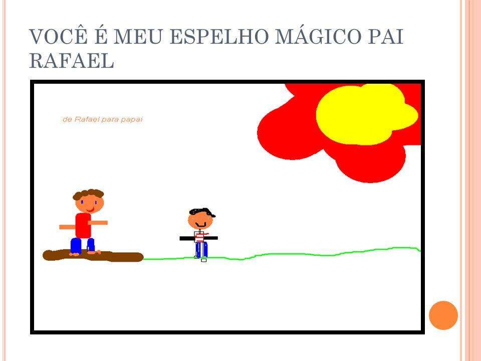VOCÊ É MEU ESPELHO MÁGICO PAI MATEUS