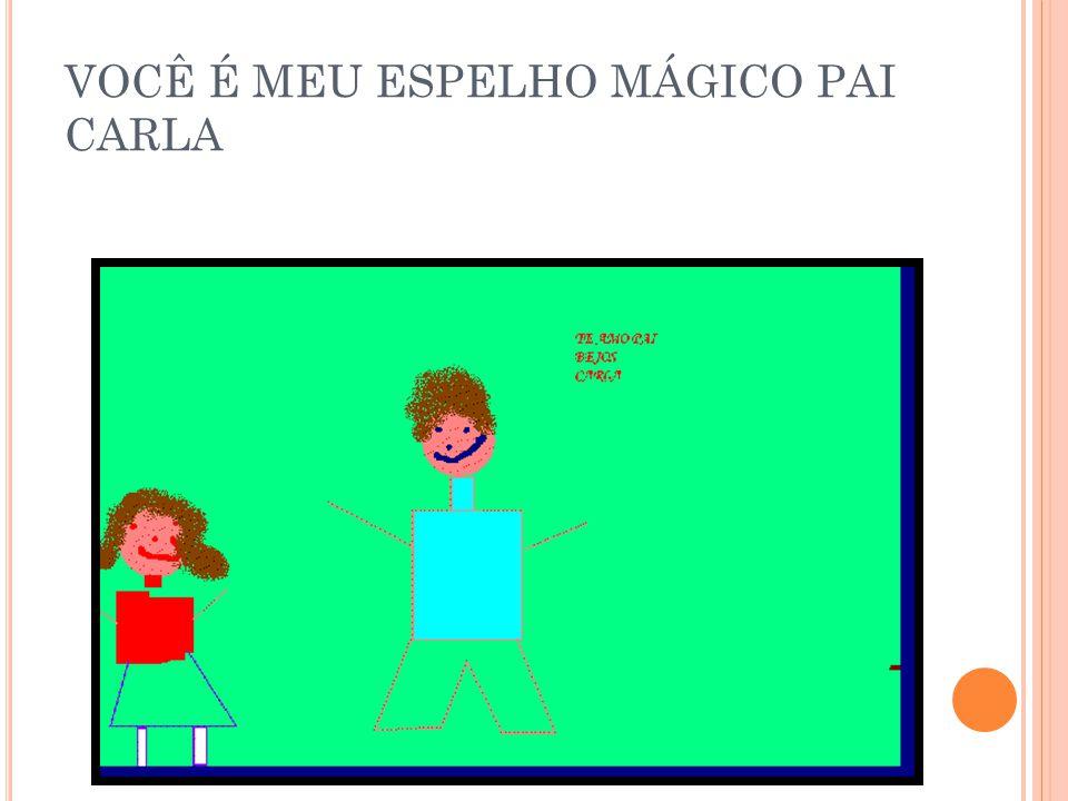 VOCÊ É MEU ESPELHO MÁGICO PAI BRUNO