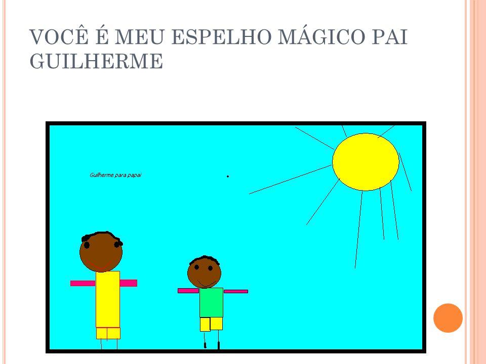 VOCÊ É MEU ESPELHO MÁGICO PAI CARLA