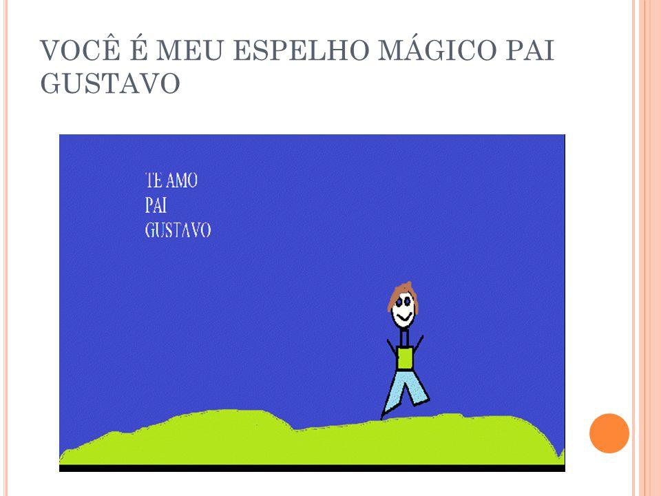 VOCÊ É MEU ESPELHO MÁGICO PAI GUILHERME N.