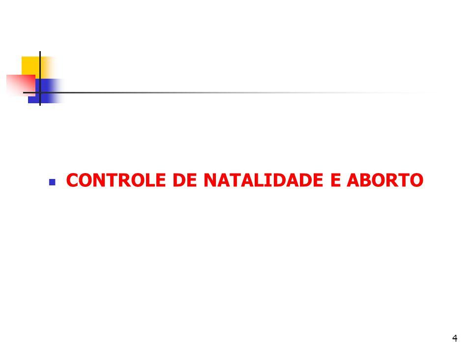 Aborto A vida humana deve ser respeitada e protegida de maneira absoluta a partir do momento da concepção.