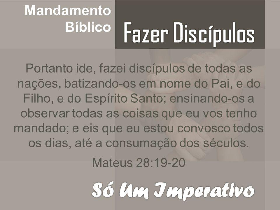 Fundamento Bíblico Tudo o que vocês aprenderam, receberam, ouviram e viram em mim, ponham-no em prática.