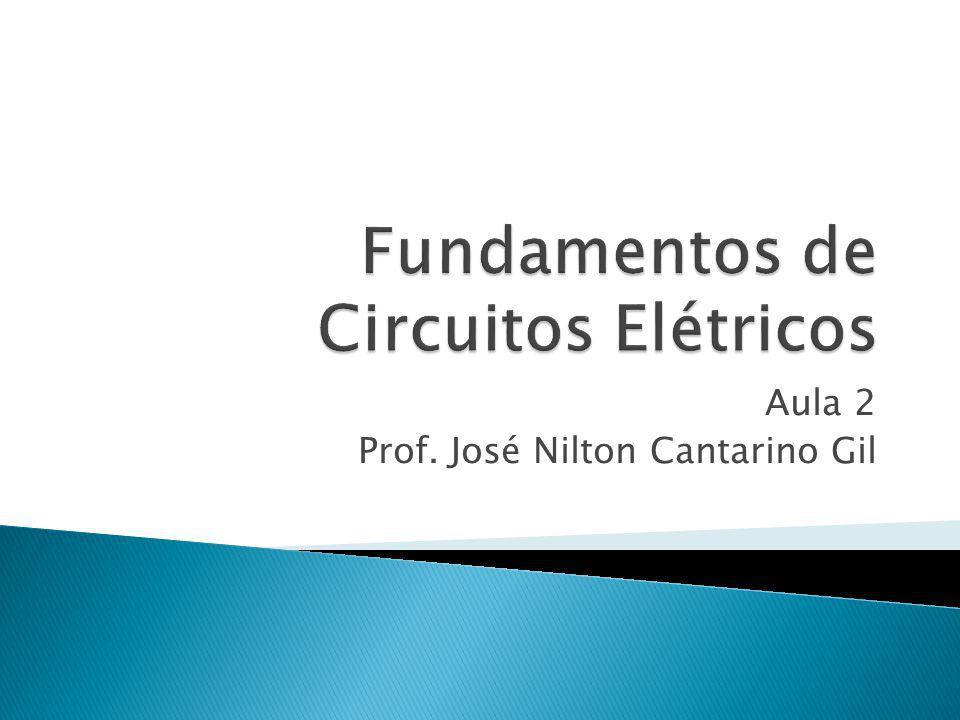 Aula 2 Prof. José Nilton Cantarino Gil