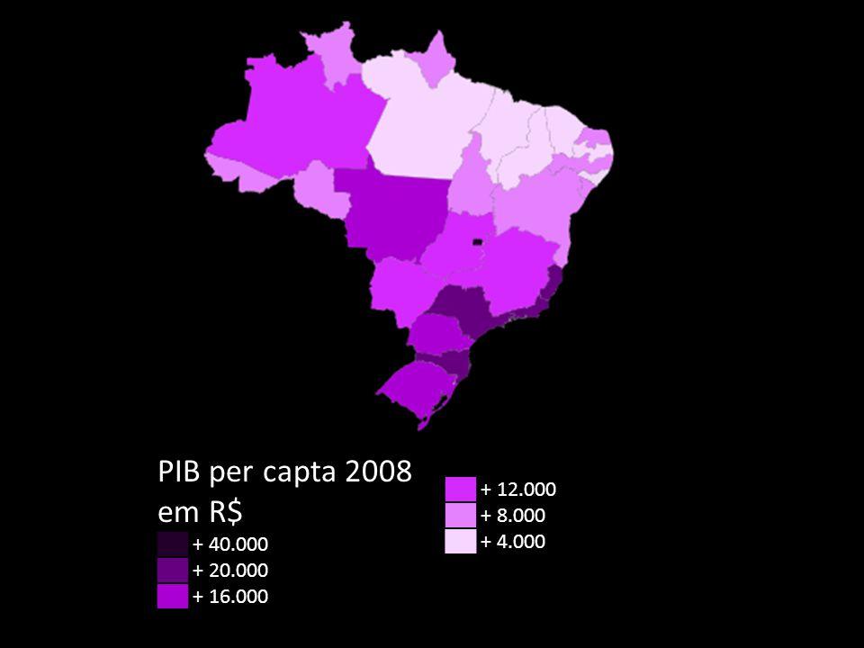 Medida de Concentração de renda: Índice de Gini Brasil: oitavo país com maior concentração de renda: Gini 2010 = 0,59.