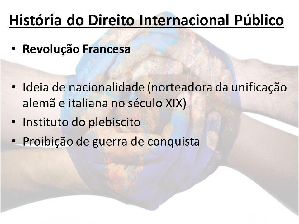 História do Direito Internacional Público Século XIX Grandes questões: IMPERIALISMO COLONIALISMO