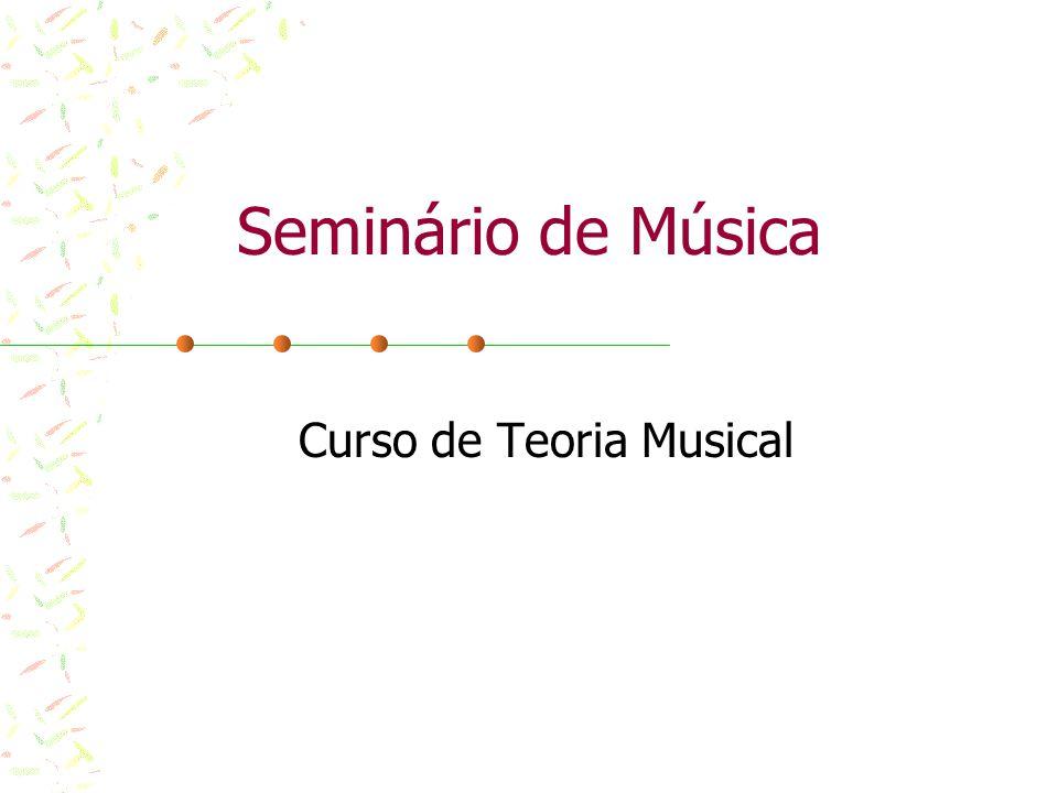 Notas musicais É no pentagrama que escrevemos as notas, as pausas e as claves musicais.