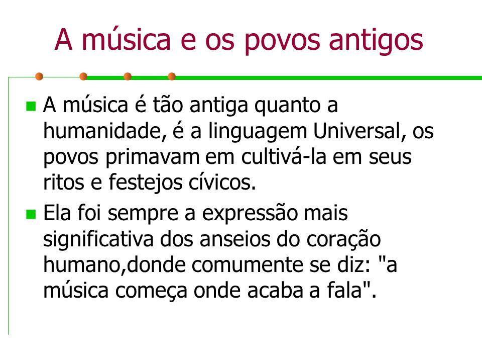 Clave de Fá Diz que a nota FÁ está na quarta linha, e é usada para os sons graves.