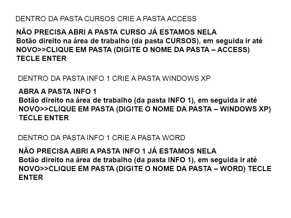 REVISÃO DO WINDOWS XP