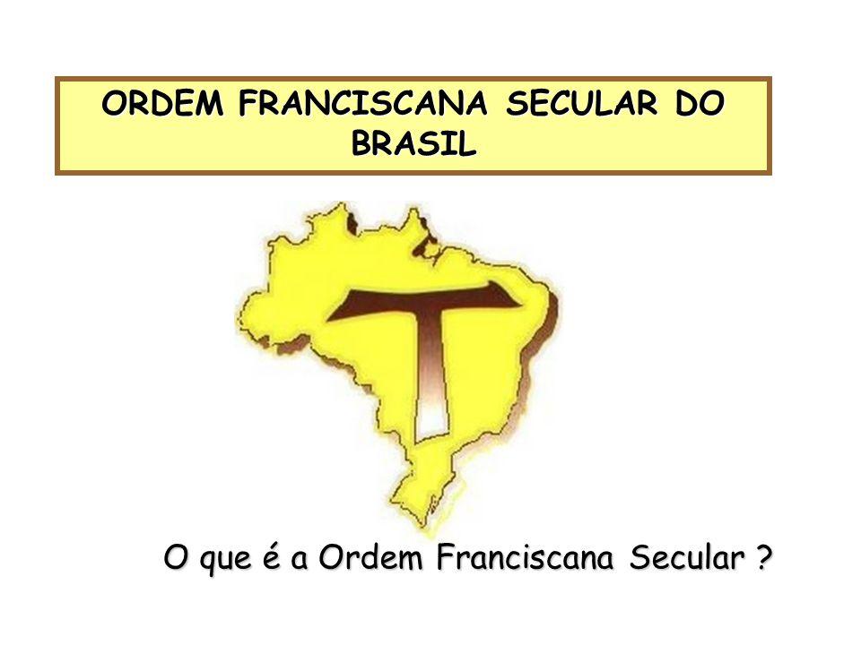 ORDEM FRANCISCANA SECULAR DO BRASIL O que é a Ordem Franciscana Secular ?