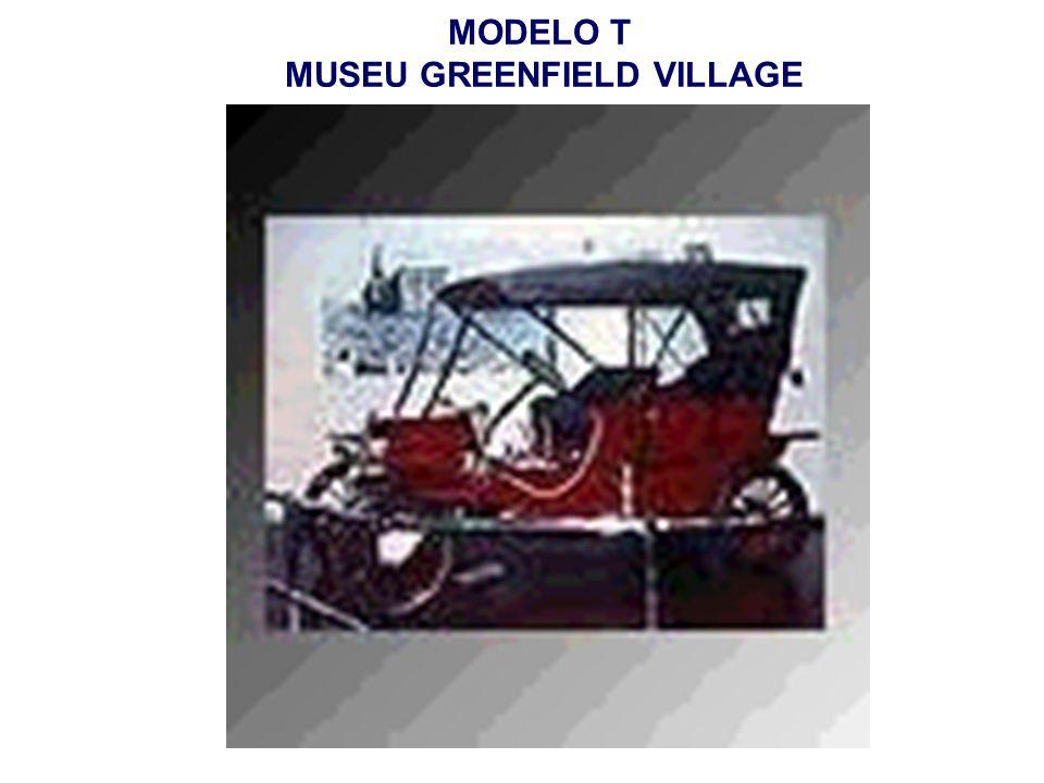 MODELO T MUSEU GREENFIELD VILLAGE