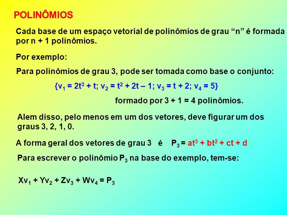 MATRIZES Sejam, por exemplo, as matrizes: XM 1 + YM 2 + ZM 3 + WM 4 = MIsto resultará no sistema: Que equivale à equação matricial 3 1 2 4 0 1 2 3 0 1