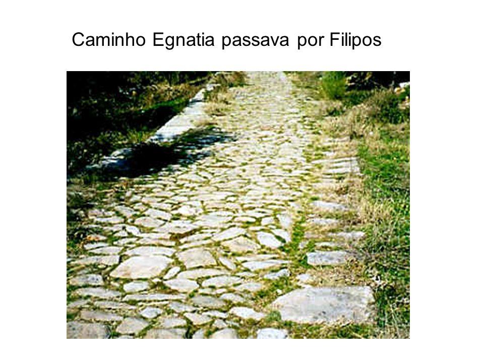 Caminho Egnatia passava por Filipos