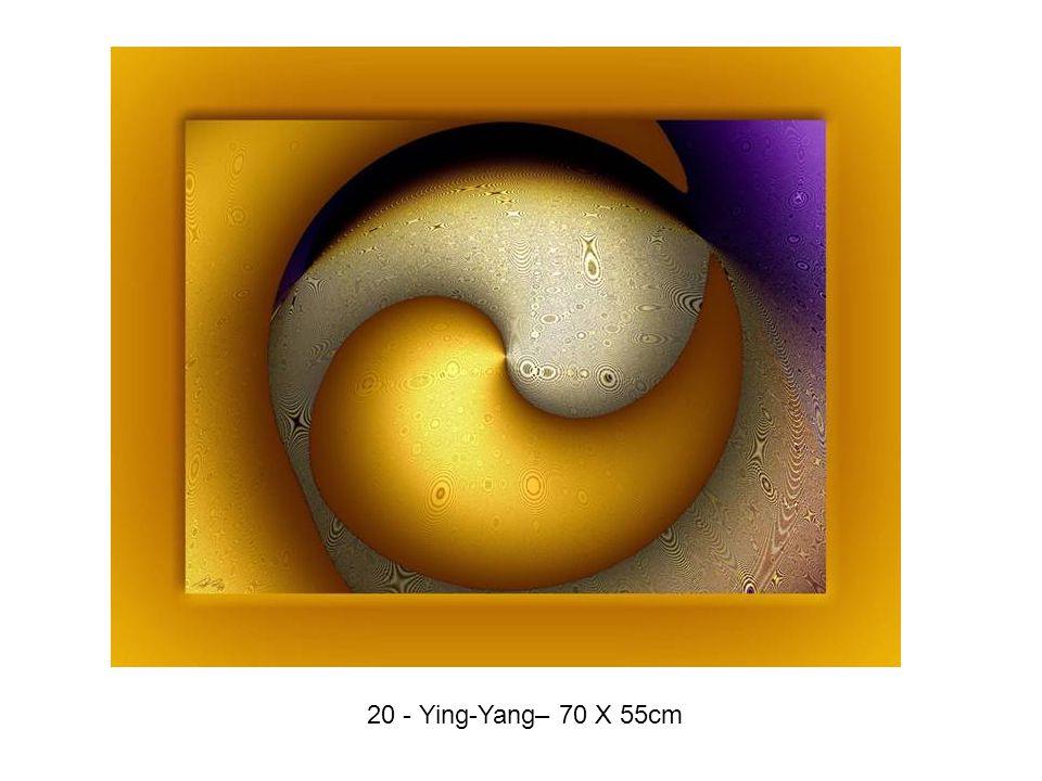 20 - Ying-Yang– 70 X 55cm