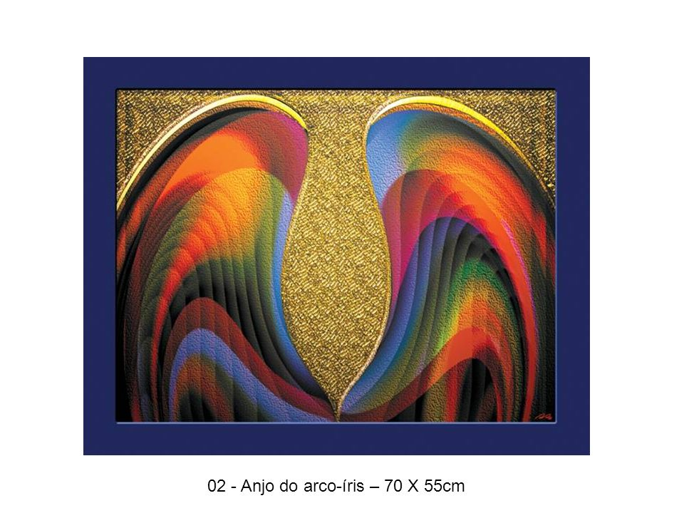 13 - Cores, luzes e sombras– 70 X 55cm