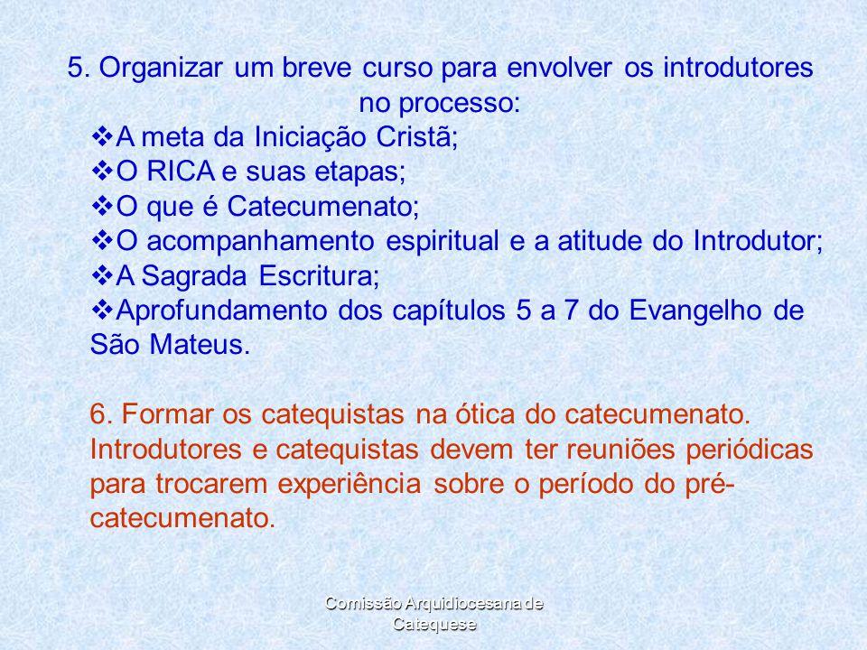 Comissão Arquidiocesana de Catequese 5.