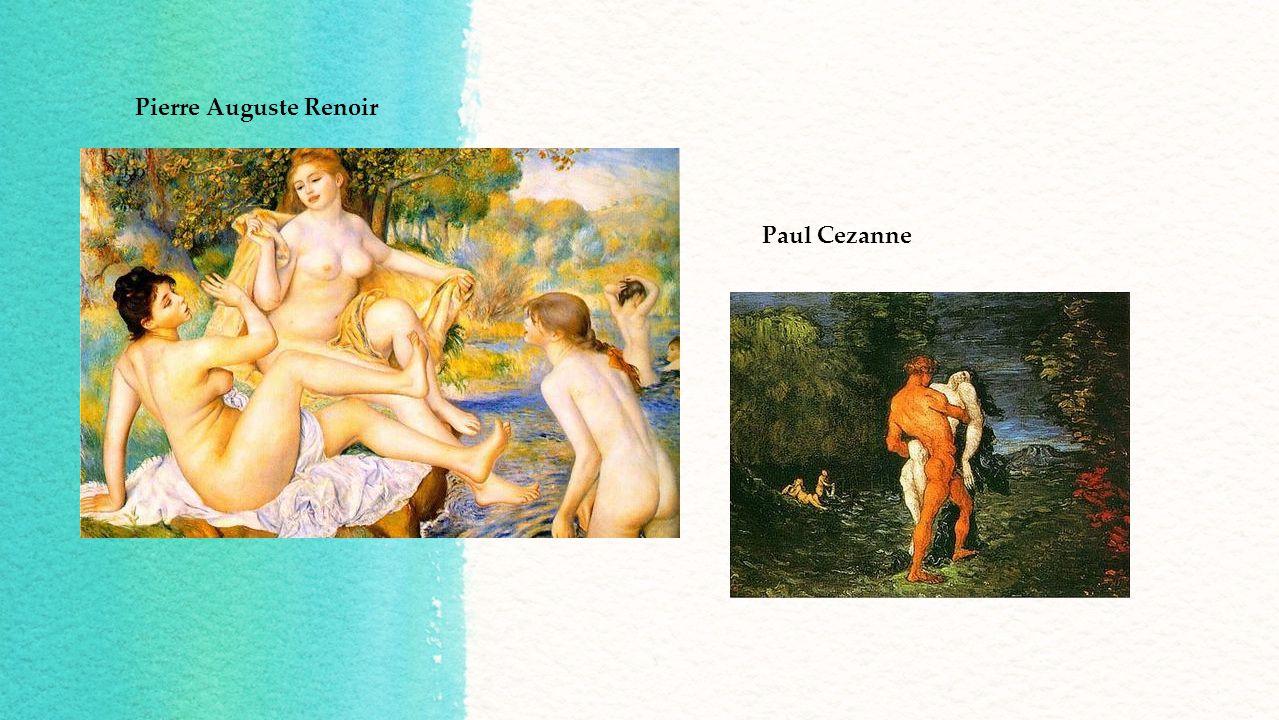 Pierre Auguste Renoir Paul Cezanne