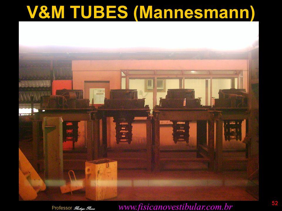 52 V&M TUBES (Mannesmann) Professor Rodrigo Penna www.fisicanovestibular.com.br